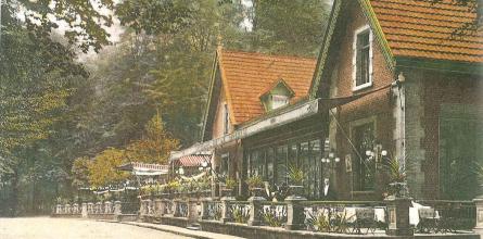 La Laiterie. Carte postale, vers 1910.